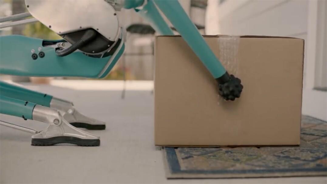 Robot dostarcza paczki do domu. Autonomicznym samochodem
