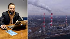 Wiceprezydent Olszewski pod ostrzałem pytań o smog