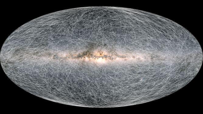 ESA stworzyła nową mapę nieba. Wkład w misję mieli Polacy