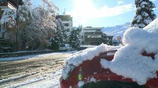 Miejscami leży 80 centymetrów śniegu