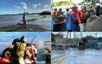 Trwają poszukiwania zaginionych w trakcie tajfunu