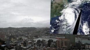 Zamknięte szkoły, odwołane loty. Tajfun Mitag uderzy w Tajwan