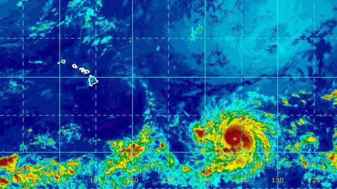 """Huragan Lane zmierza nad Hawaje. """"Gwałtownie przybrał na sile"""""""