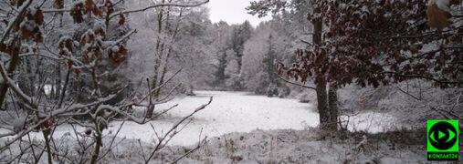 """""""Zima jak z bajki"""". Krajobraz po nocnych opadach śniegu"""