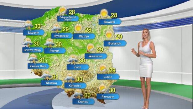 aa085c207f W środę gwałtowna pogoda będzie towarzyszyć mieszkańcom południowej i  zachodniej Polski. W części kraju już grzmi. Zobacz
