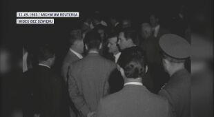 Powitanie Leonowa na 16. Międzynarodowym Kongresie Astronautycznym