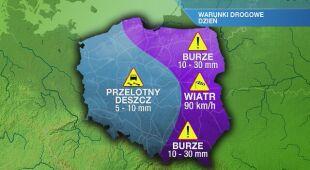 Warunki drogowe w piątek 25.06