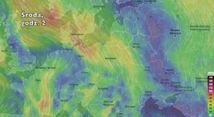Podmuchy wiatru w Europie